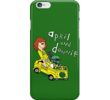 April and Donnie iPhone Case/Skin
