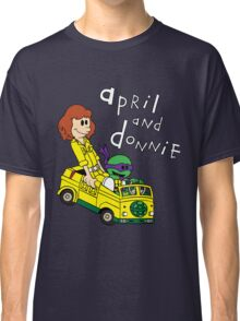 April and Donnie Classic T-Shirt
