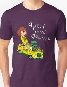 April and Donnie Unisex T-Shirt