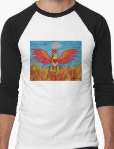 Born of Fire Men's Baseball ¾ T-Shirt