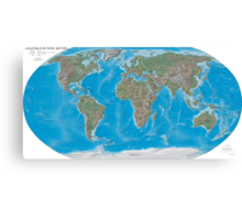 Geography cheat Canvas Print