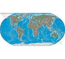 Geography cheat Photographic Print