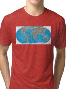 Geography cheat Tri-blend T-Shirt