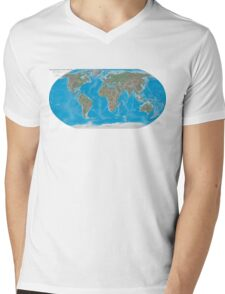 Geography cheat Mens V-Neck T-Shirt
