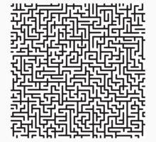 Be your own maze runner Kids Tee