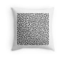 Be your own maze runner Throw Pillow