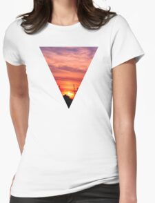 dusk Womens Fitted T-Shirt
