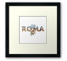 Buona Sera Roma! Framed Print