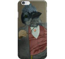 Gentlemen's club of exquisite plumage. iPhone Case/Skin