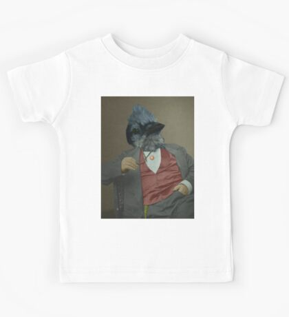 Gentlemen's club of exquisite plumage. Kids Tee