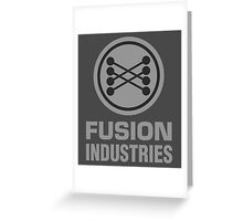 Fusion Industries - Back to the Future Greeting Card