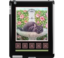 Sir Nightly, Cat of Mystery iPad Case/Skin