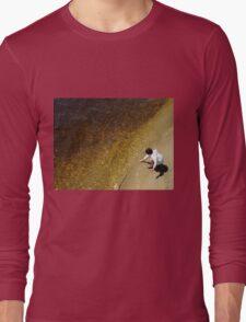 River Gold Long Sleeve T-Shirt