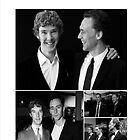 Benedict Cumberbatch and Tom Hiddleston by meggie1tr