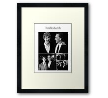 Benedict Cumberbatch and Tom Hiddleston Framed Print