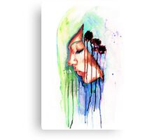 I Dream in Shades of Blue Canvas Print