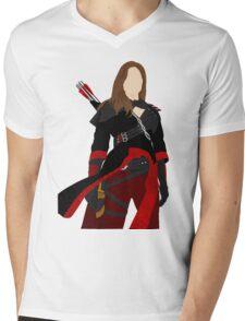 Nyssa Al Ghul Mens V-Neck T-Shirt