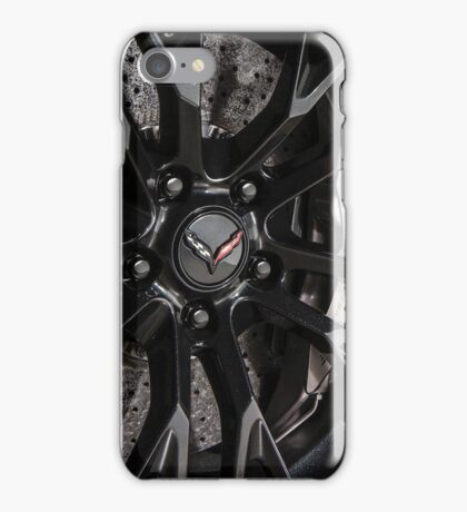 Chevrolet Corvette C7 .R wheel iPhone Case/Skin