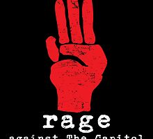 Rage Against The Capitol by spazzynewton
