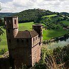 Burg Schadeck in Neckarsteinach, Germany by Mark Heller