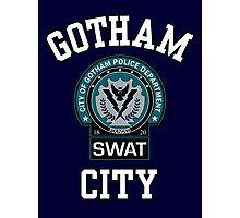Gotham City Police SWAT Photographic Print