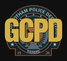GCPD - Gotham Police Kids Clothes