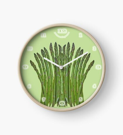Asparagus Fan Clock