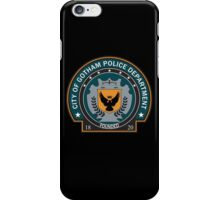 Gotham Police Deparment Badge iPhone Case/Skin