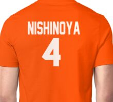 Haikyuu - Jersey Nishinoya Number Four (Karasuno) Unisex T-Shirt