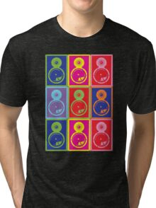 Pop Art Speakers Tri-blend T-Shirt
