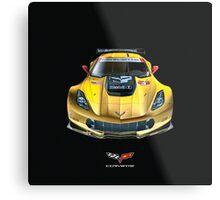 Chevrolet Corvette C7 .R carbon fiber edition Metal Print