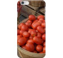 Baskets of Tomatoes iPhone Case/Skin