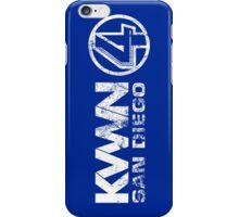 KVWN San Diego (Distressed) iPhone Case/Skin