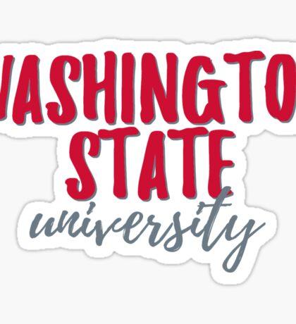 Washington State University Sticker