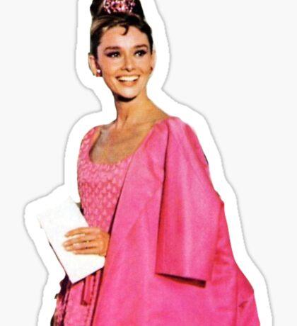 Breakfast at Tiffanys - Audrey Hepburn - Holly Golightly  Sticker