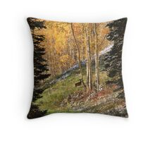 Autumn's Blessing Throw Pillow and Tote Bag Throw Pillow