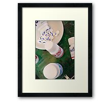 Social Addiction Framed Print