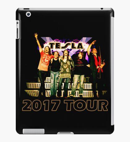 The Hits Band Tesla Tour 2017 iPad Case/Skin