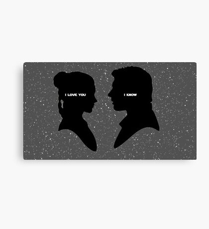 The Princess and the Scoundrel  Canvas Print