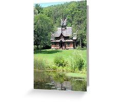 Little Norway Stave Church Greeting Card
