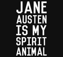 Jane Austen is my Spirit Animal_White Kids Clothes