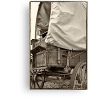 Wagons West Canvas Print