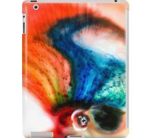 Abstract Colorful Liquid iPad Case/Skin