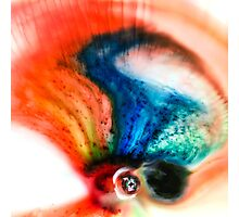 Abstract Colorful Liquid Photographic Print