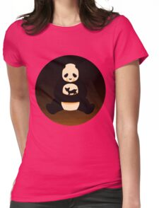 Sepia Tones Womens Fitted T-Shirt