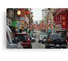 Chinatown, San Francisco Canvas Print