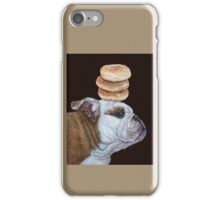 Guardian of the bagels iPhone Case/Skin