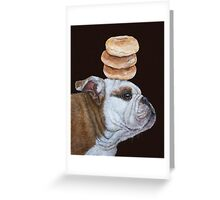 Guardian of the bagels Greeting Card