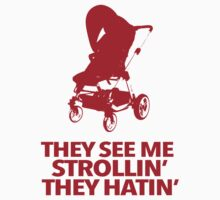 Funny Hatin' and Strollin' Baby Infant Creeper by Albany Retro