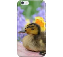 Why? Duckling Springs Flowers - NZ iPhone Case/Skin